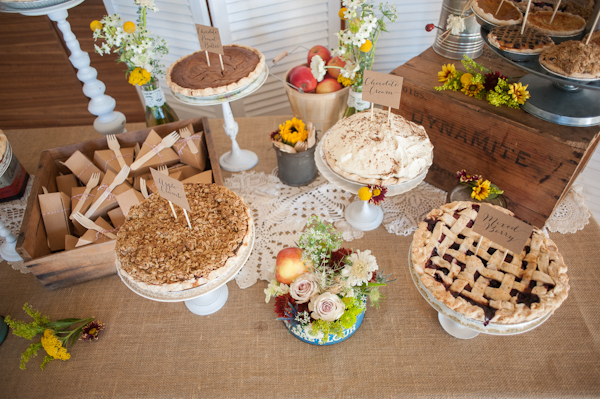 Pie Dessert Table 2