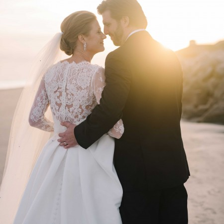 seabrook island wedding bride and groom