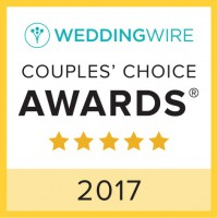 Wedding Wire Couples' Choice Award 2017 Badge