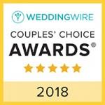 Wedding Wire Couples' Choice 2018 Winner