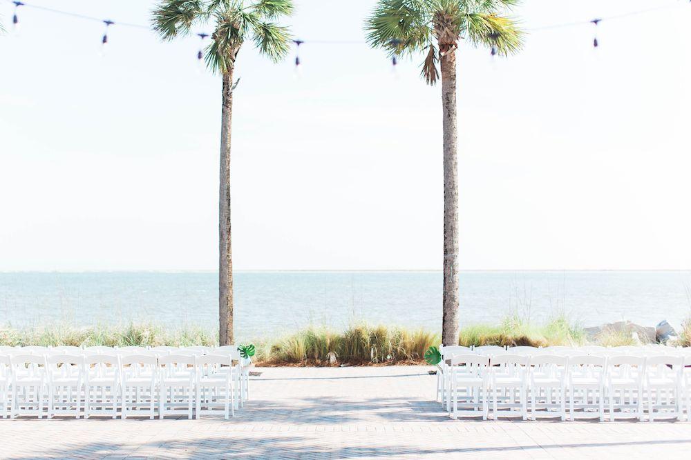 Sustainable Beach Wedding At Seabrook Island!