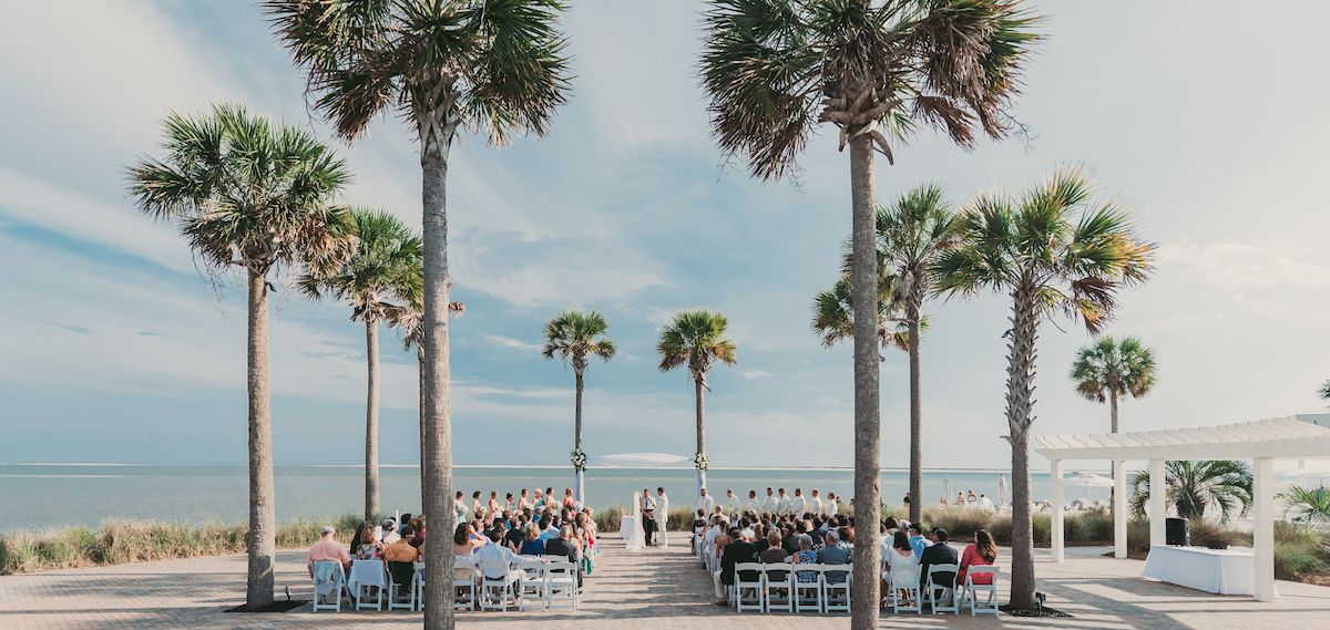 destination weddings on Seabrook Island
